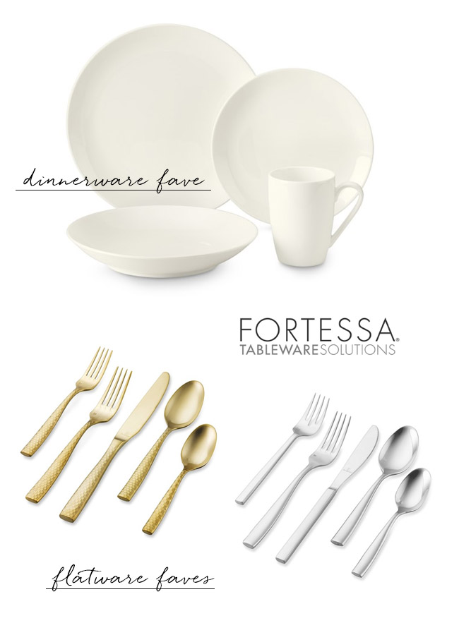Fortessa Tableware and Dinnerware