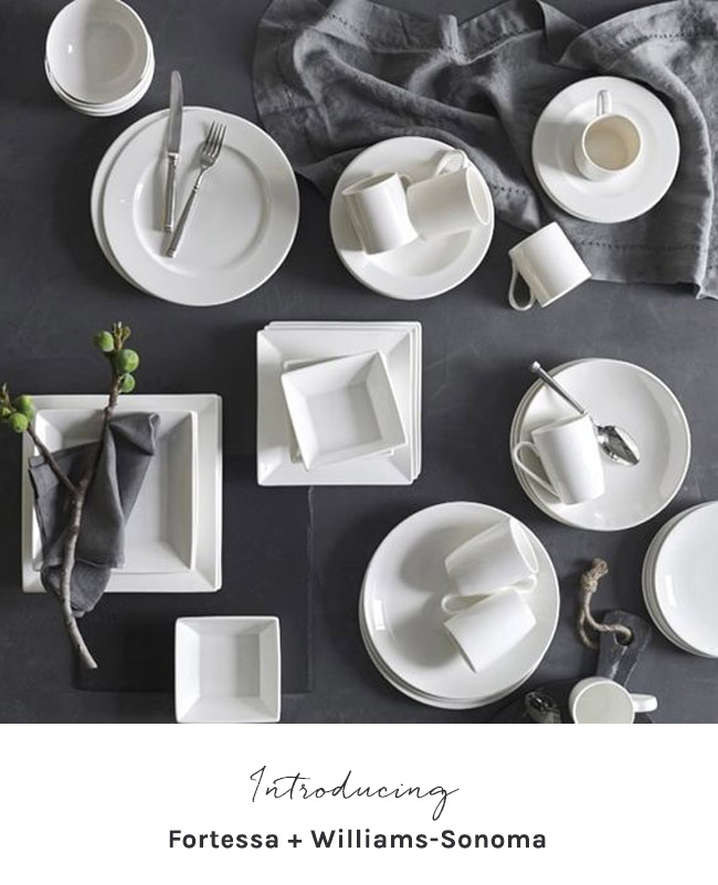 Fortessa and Williams-Sonoma