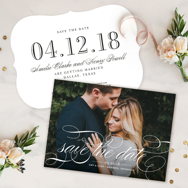 Save the Date Giveaway from Minted