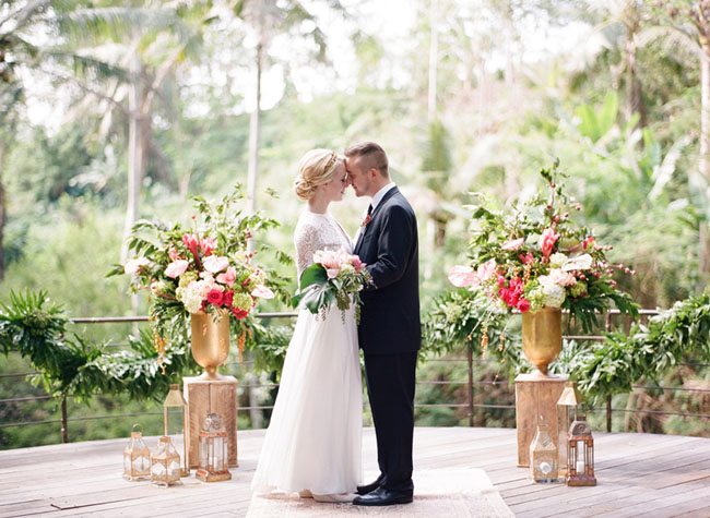 A Romantic Elopement in Bali