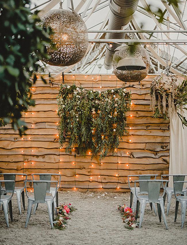 Winter Garden Backdrop