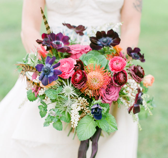 Colorful Boho Bouquet
