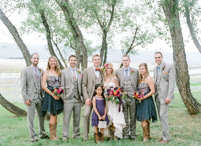 a85301378b11 Colorful Boho Wedding in Colorado  Kate + Wes - Green Wedding Shoes