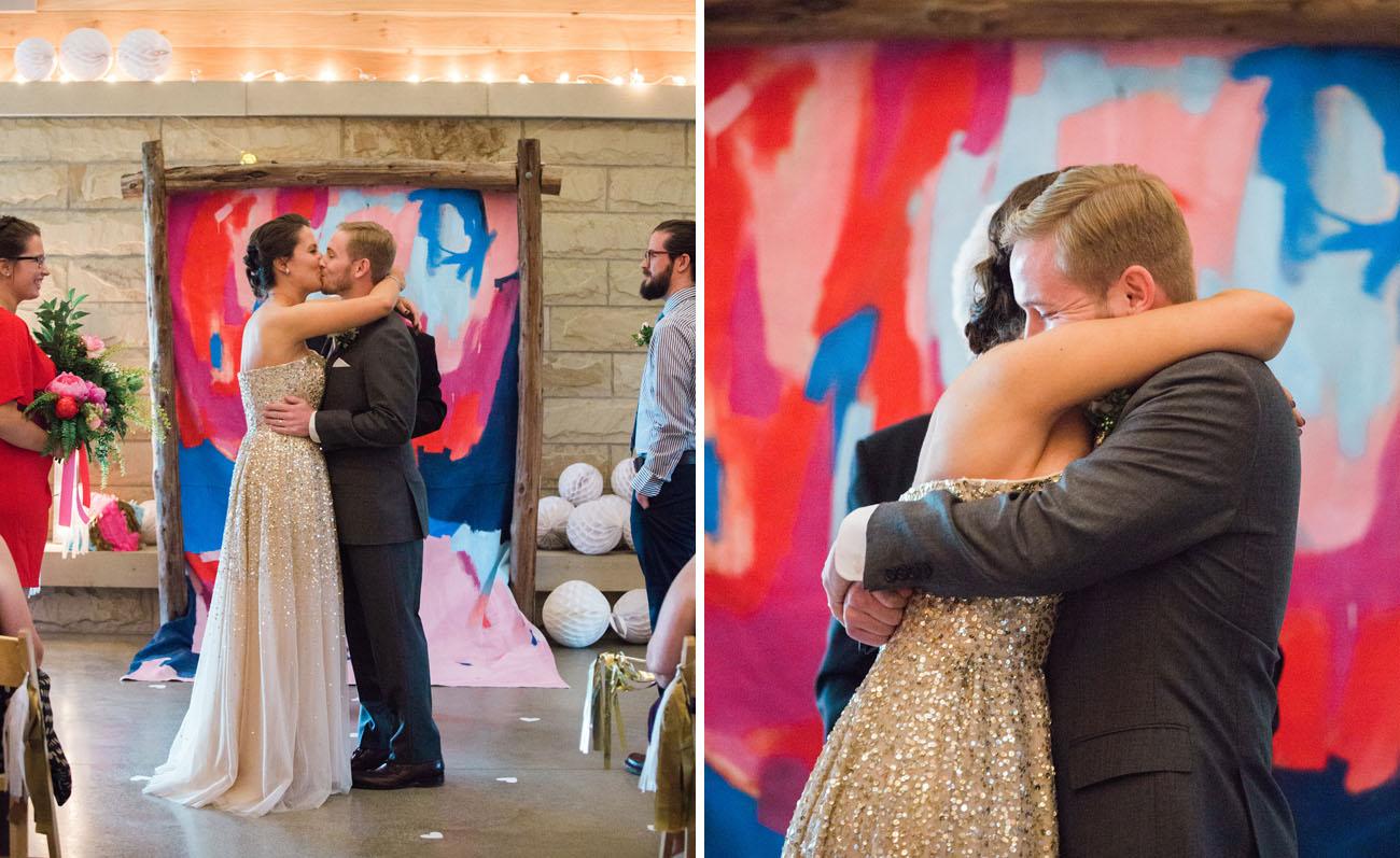 Colorful Ohio Wedding