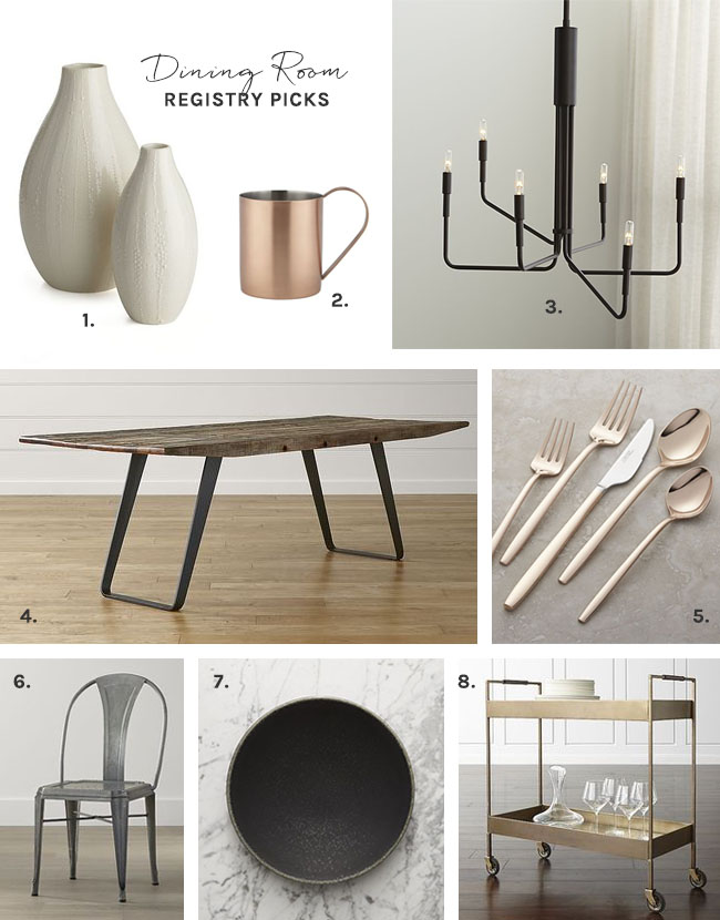 design your dream home with the crate and barrel wedding registry