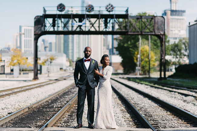 Industrial Garden Chicago Wedding