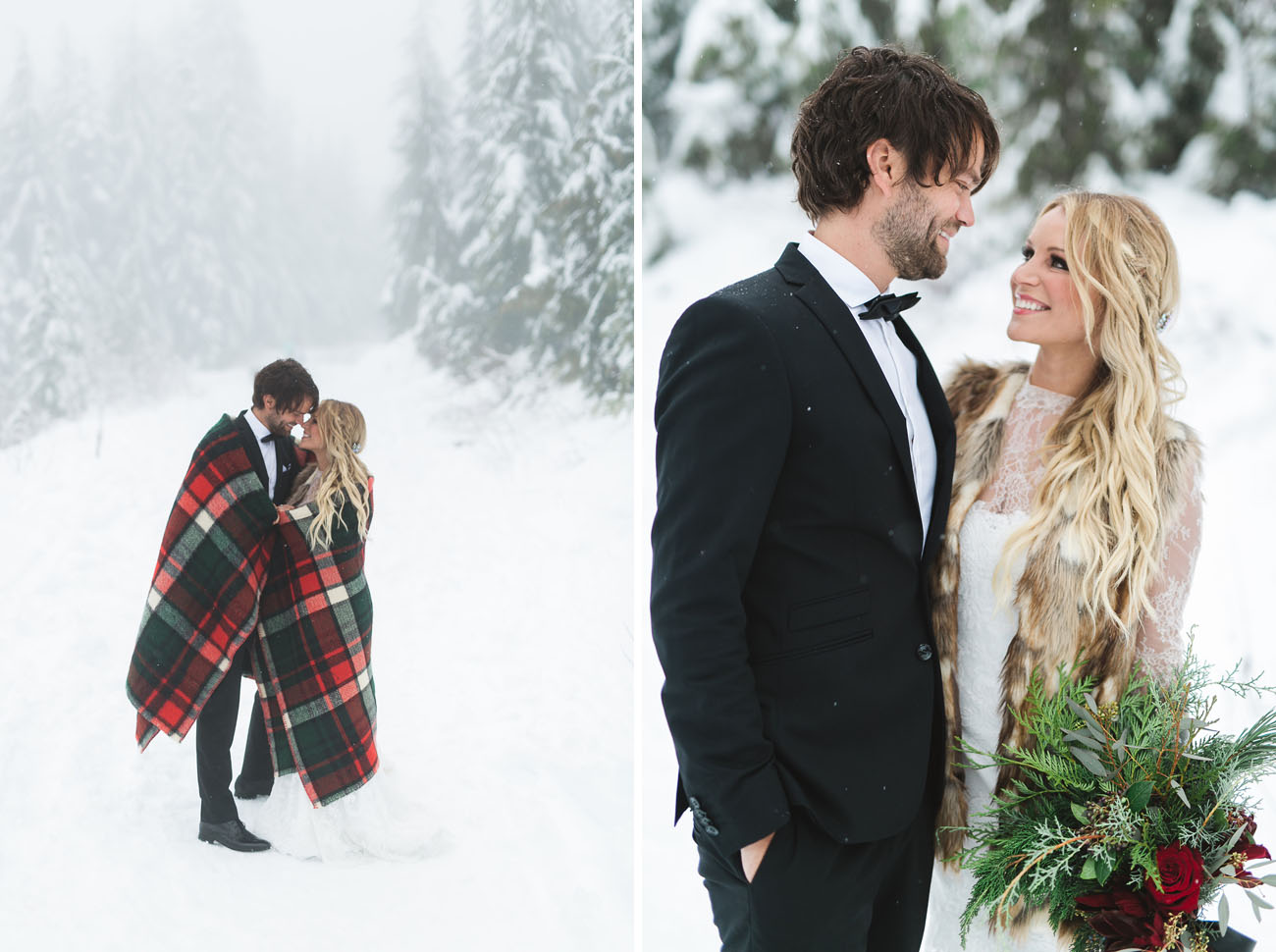 Vintage bohemian winter wedding julia mike green wedding winter bohemian wedding junglespirit Image collections