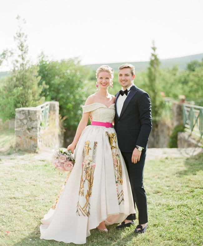Dolce Gabbana Inspired Wedding