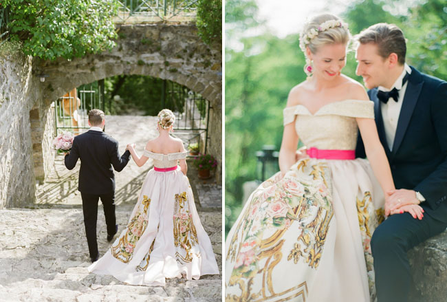 Dolce & Gabbana Inspired Wedding