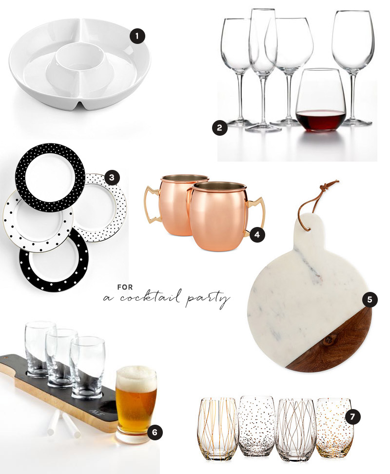 macys cocktail party registry picks