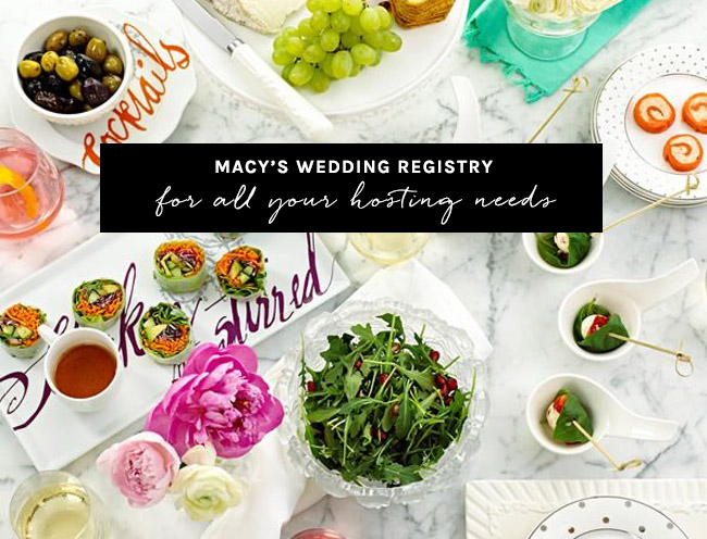 Macy's Wedding Registry