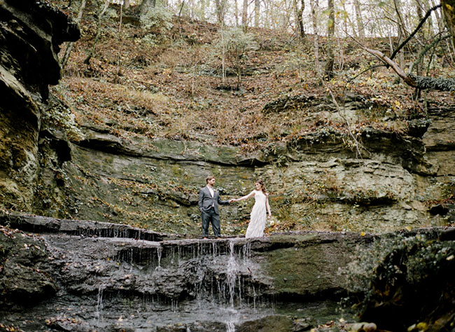 Magical Rainy Elopement