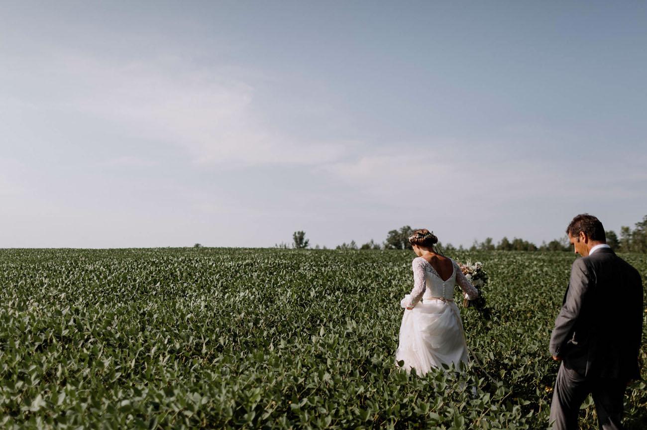 Minnesota Farm Wedding