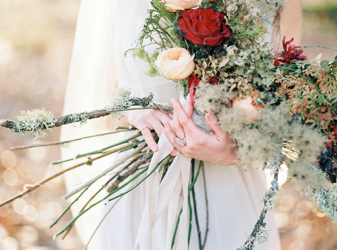 mossy bouquet