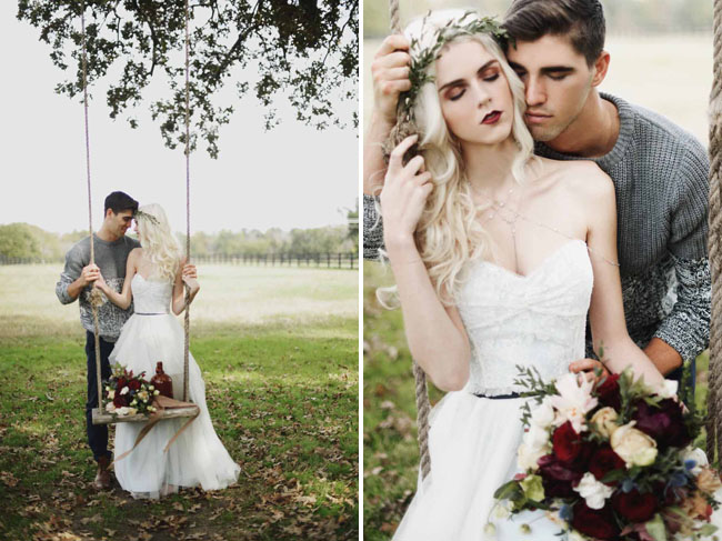 Rustic Winter Wedding Ideas Inspired by Paul Bunyon - Green Wedding ...