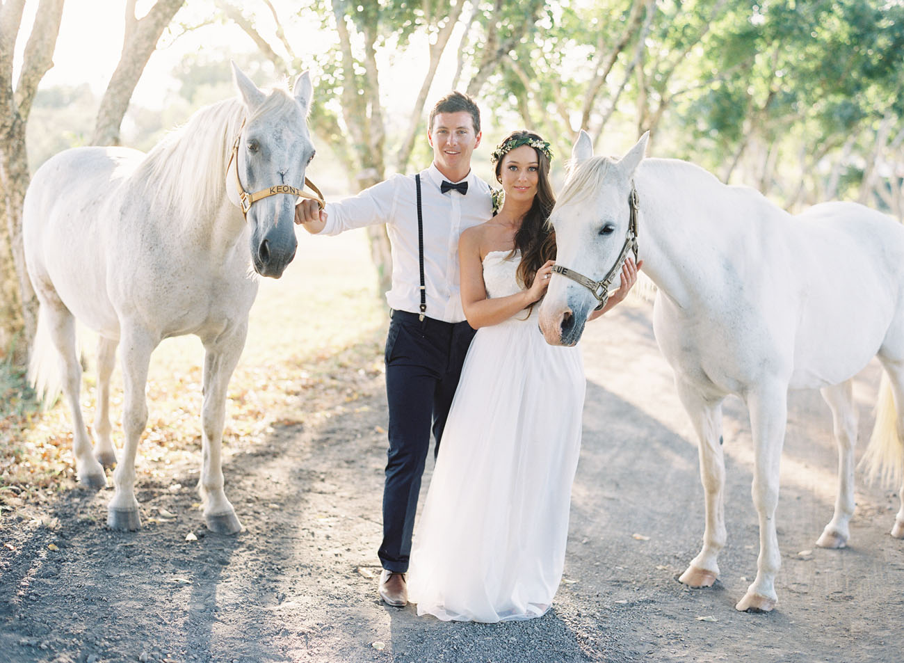 Hawaii Ranch Wedding