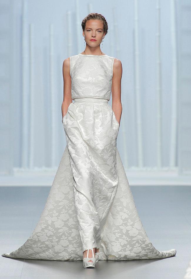 Contemporary Wedding Dresses 92 Simple Rosa Clara Collection