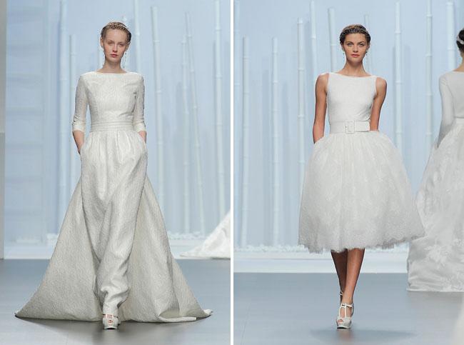 Contemporary Wedding Dresses 70 Cool Rosa Clara Collection