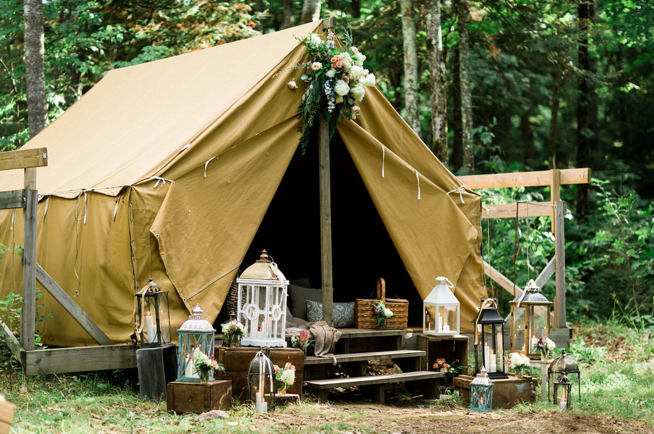 Rustic Camp Elopement