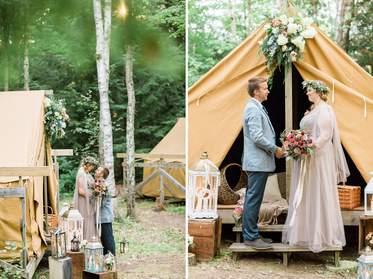 Rustic Camp Elopement