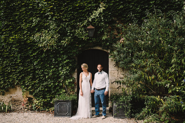 Rustic Wedding in French Wine Country: Karen + Steve