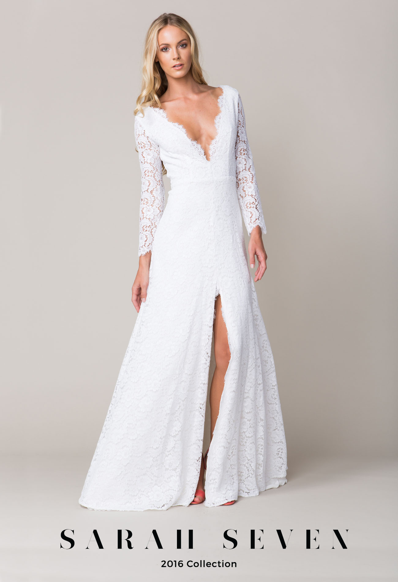 the wedding dress collection from sarah seven wedding dresses Sarah Seven Collection