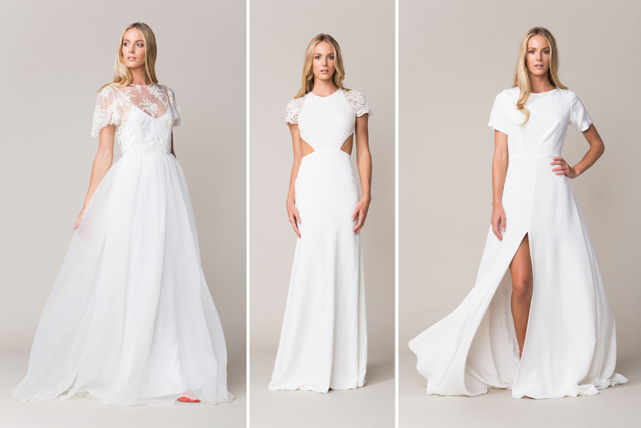 The 2016 Wedding Dress Collection from Sarah Seven Green Wedding