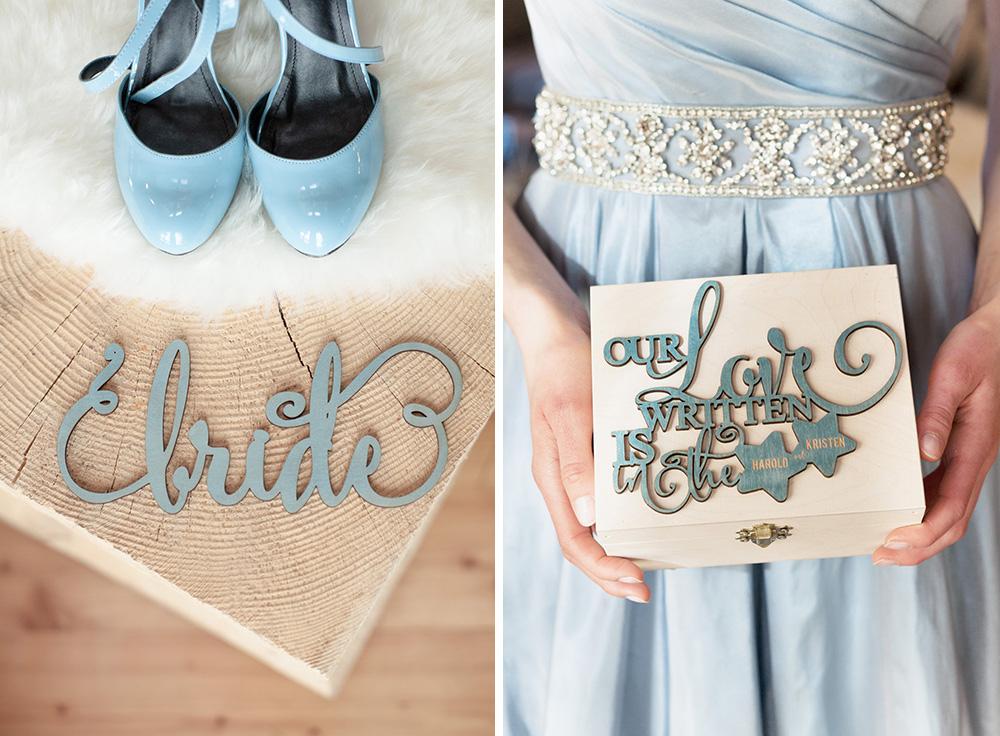 4lovepolkadots bride sign