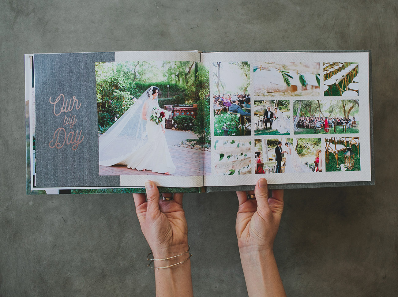 Create Your Wedding Album with Mixbook