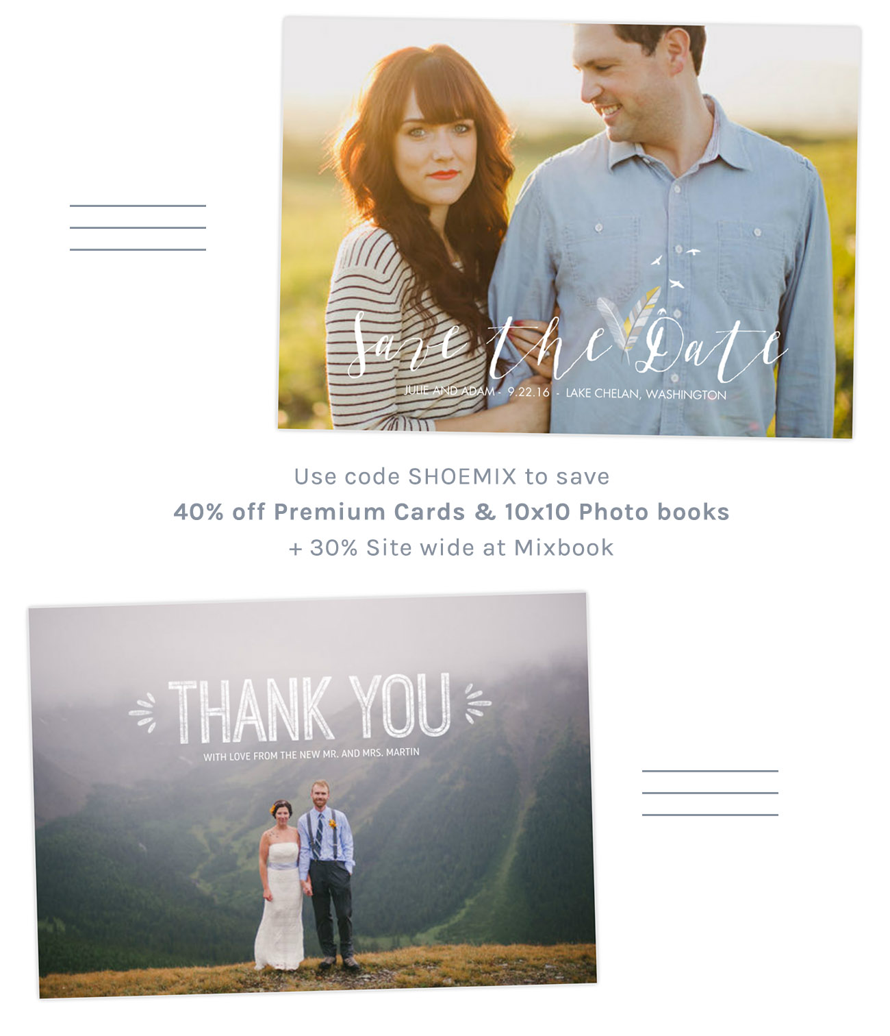 Mixbook Save 40% off