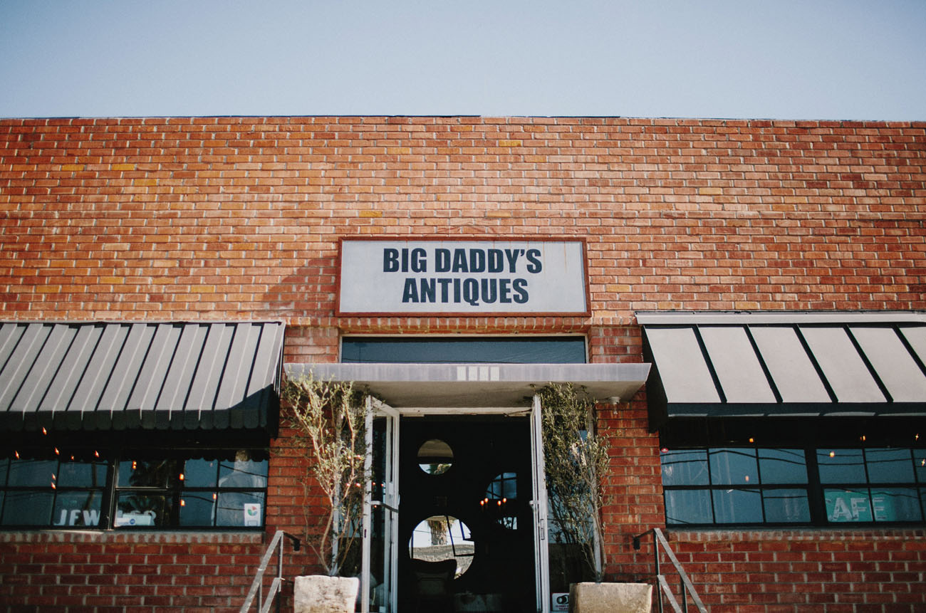 Big Daddys Antiques Wedding