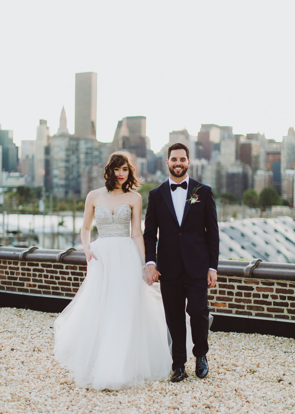 Colorful NYC Wedding