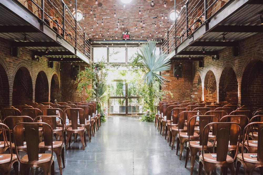 Modern New York City Wedding At The Foundry Lauren Ben