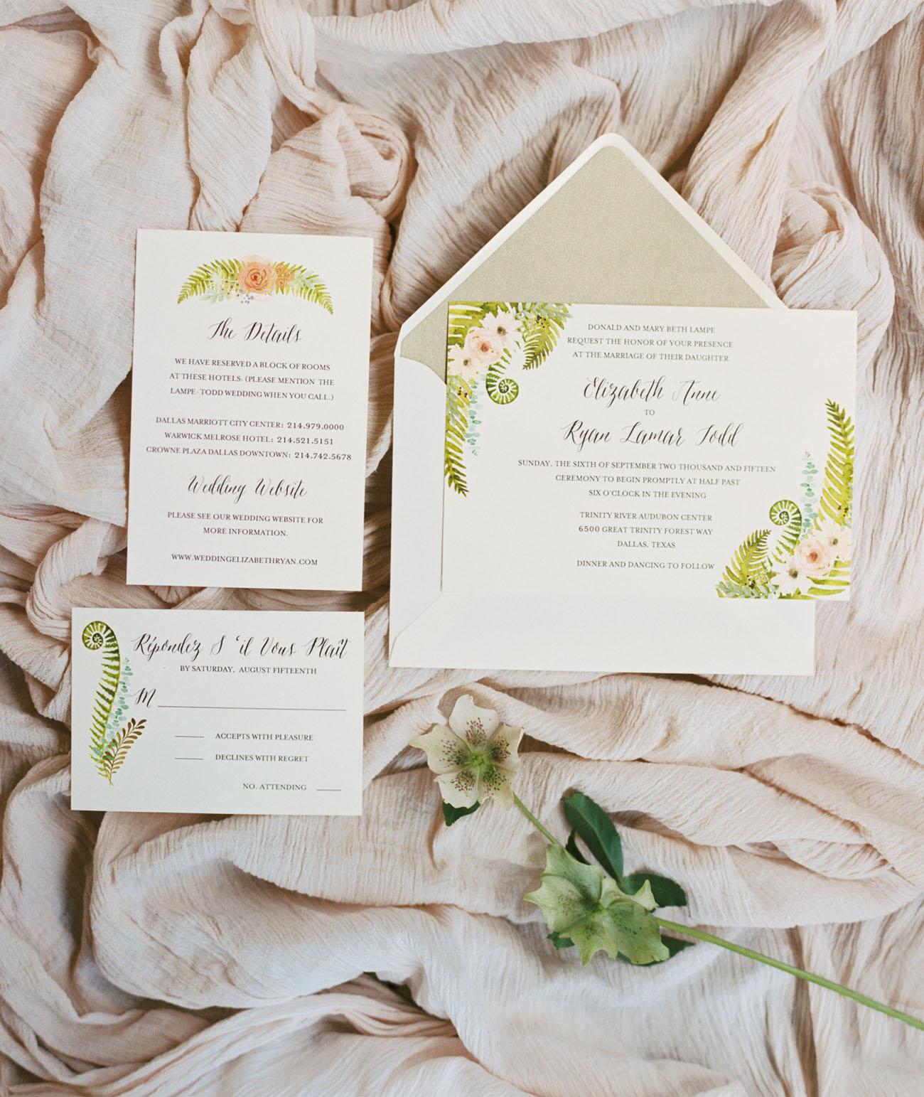 Dallas Audubon Center Wedding: Elizabeth + Ryan - Green Wedding Shoes
