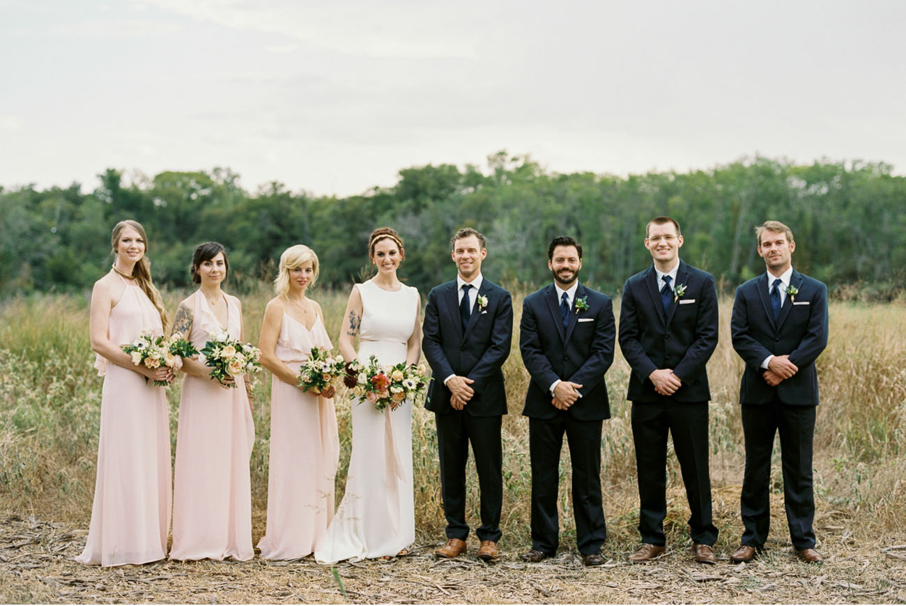Modern Dallas Wedding