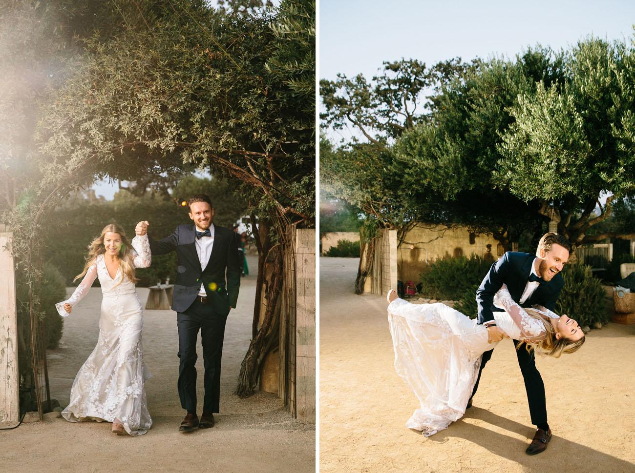 Boho Winery Wedding