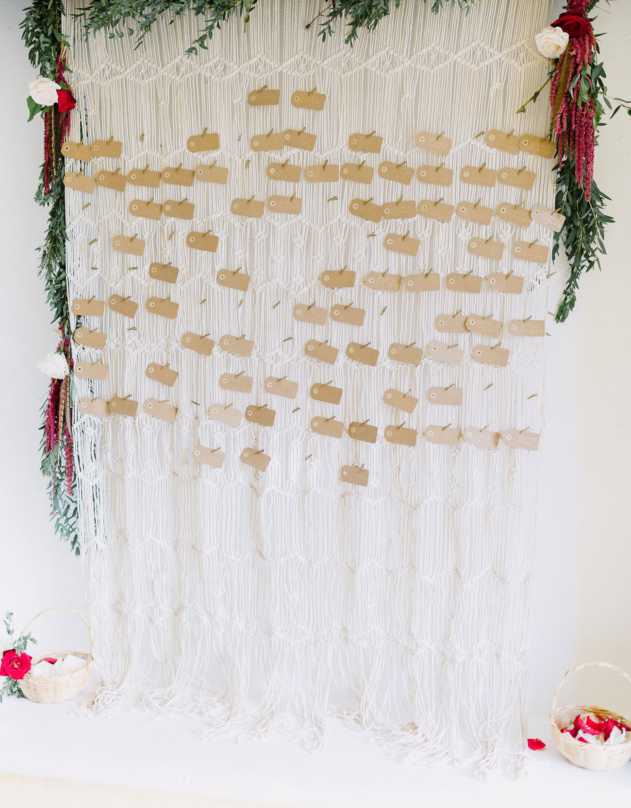macrame escort display