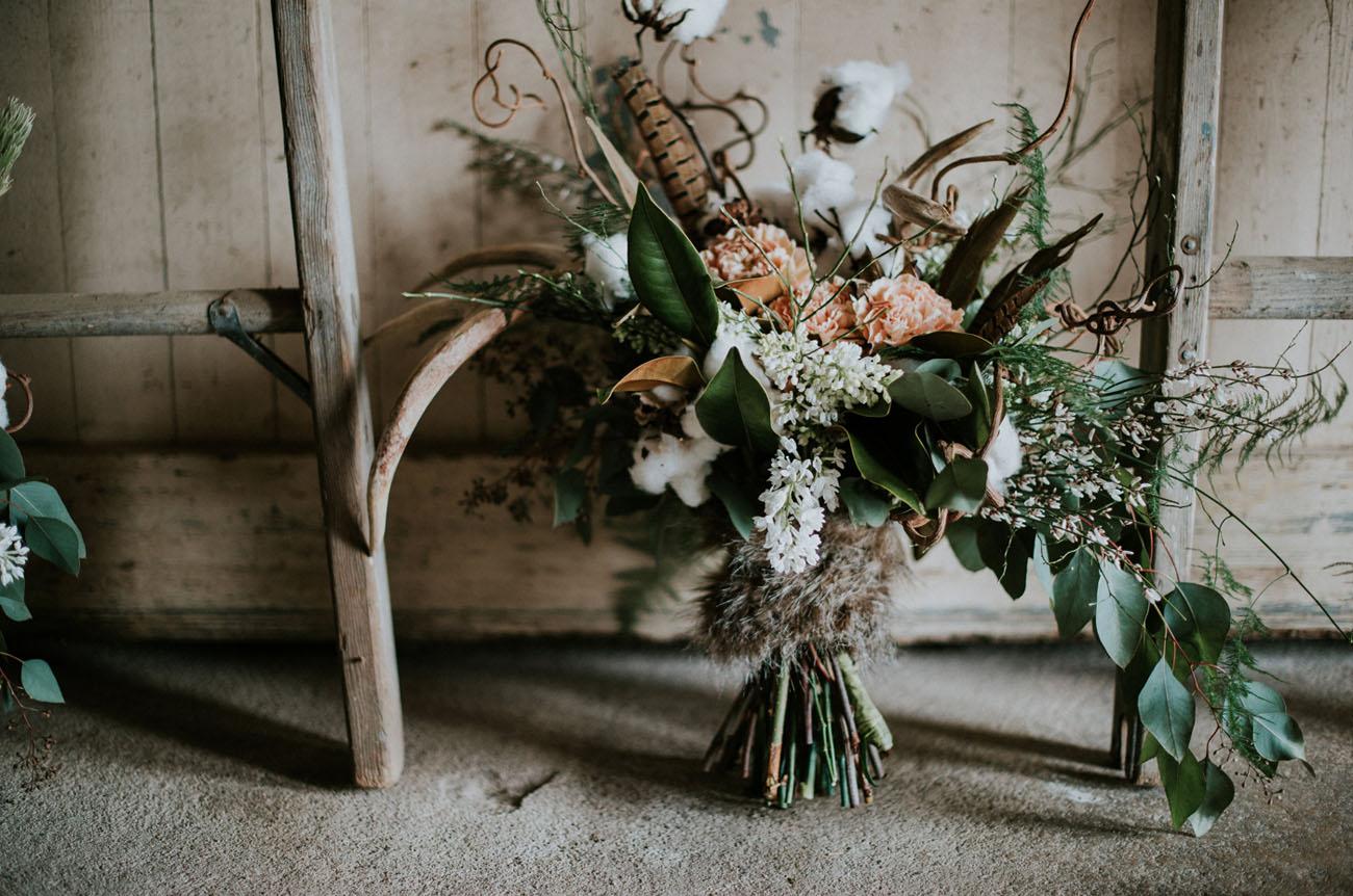 4e5c9888007e Winter Bohemian Wedding Inspiration - Green Wedding Shoes