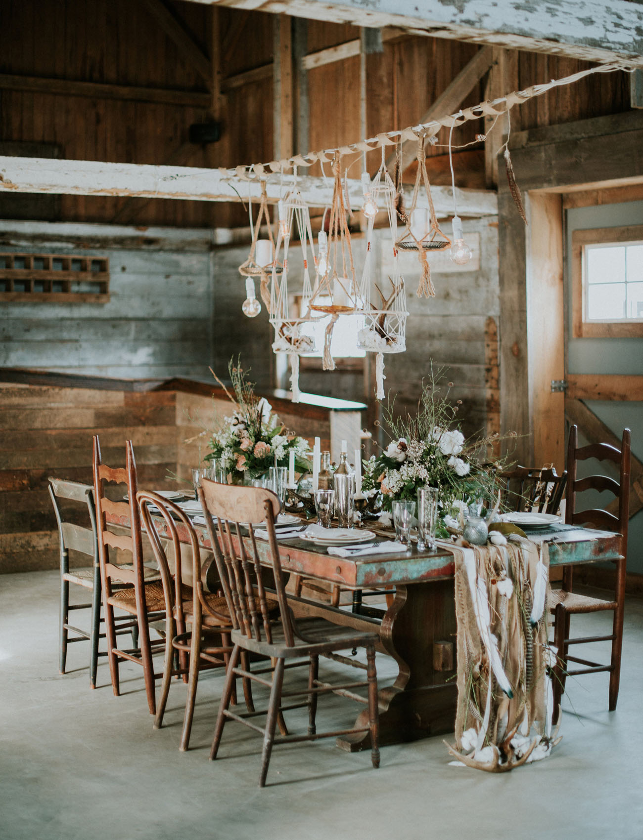 Winter Bohemian Wedding Inspiration