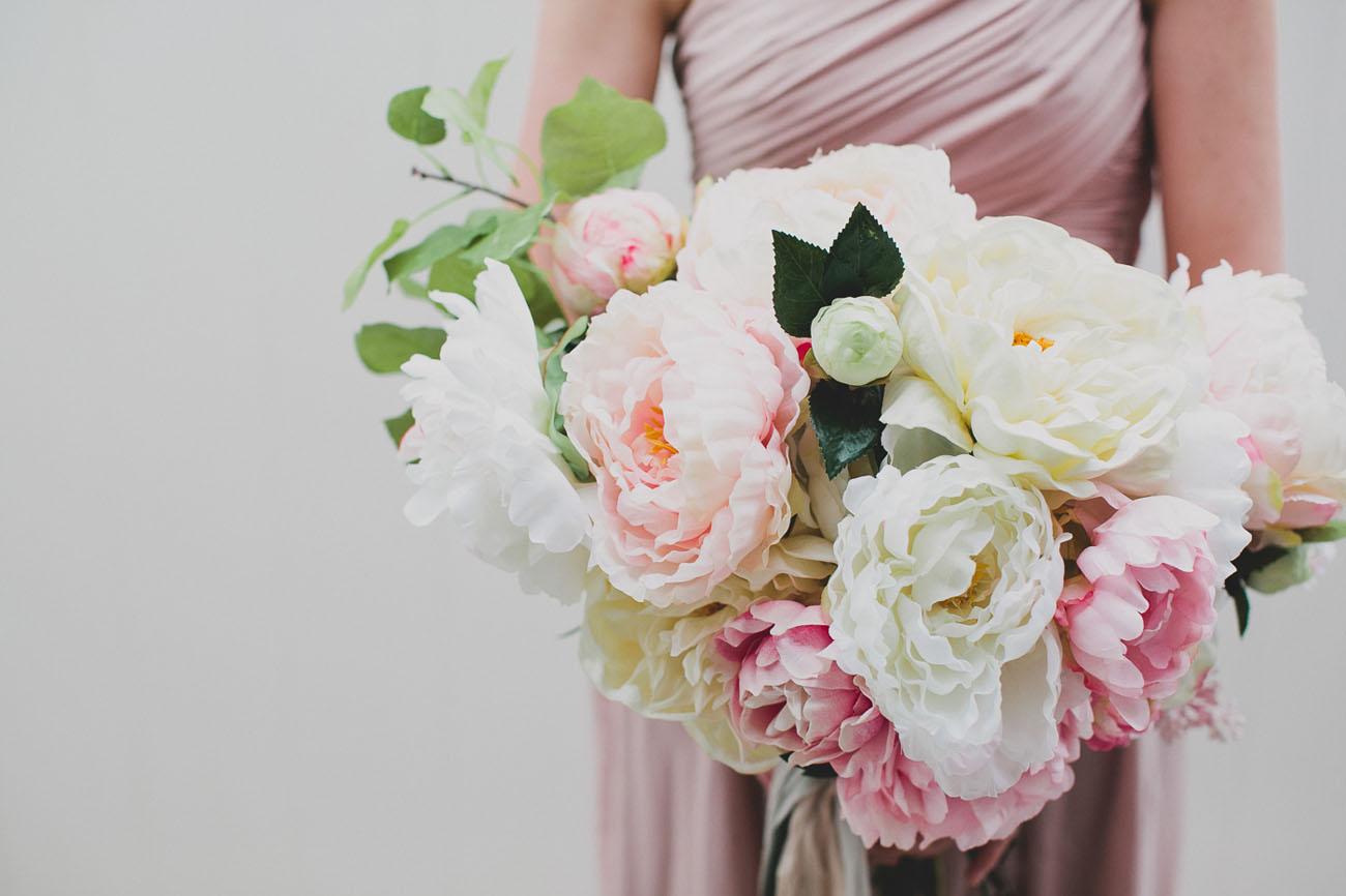 DIY Silk Floral Bouquet