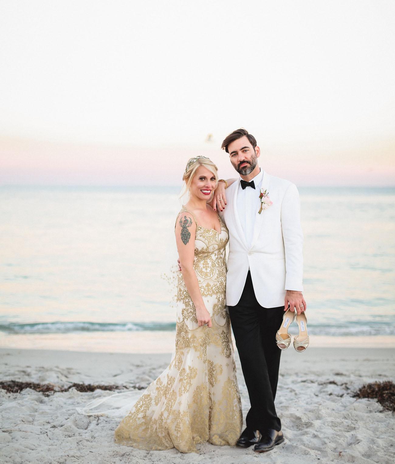 Havana Nights Wedding on Valentine\'s Day: Hilary + David - Green ...