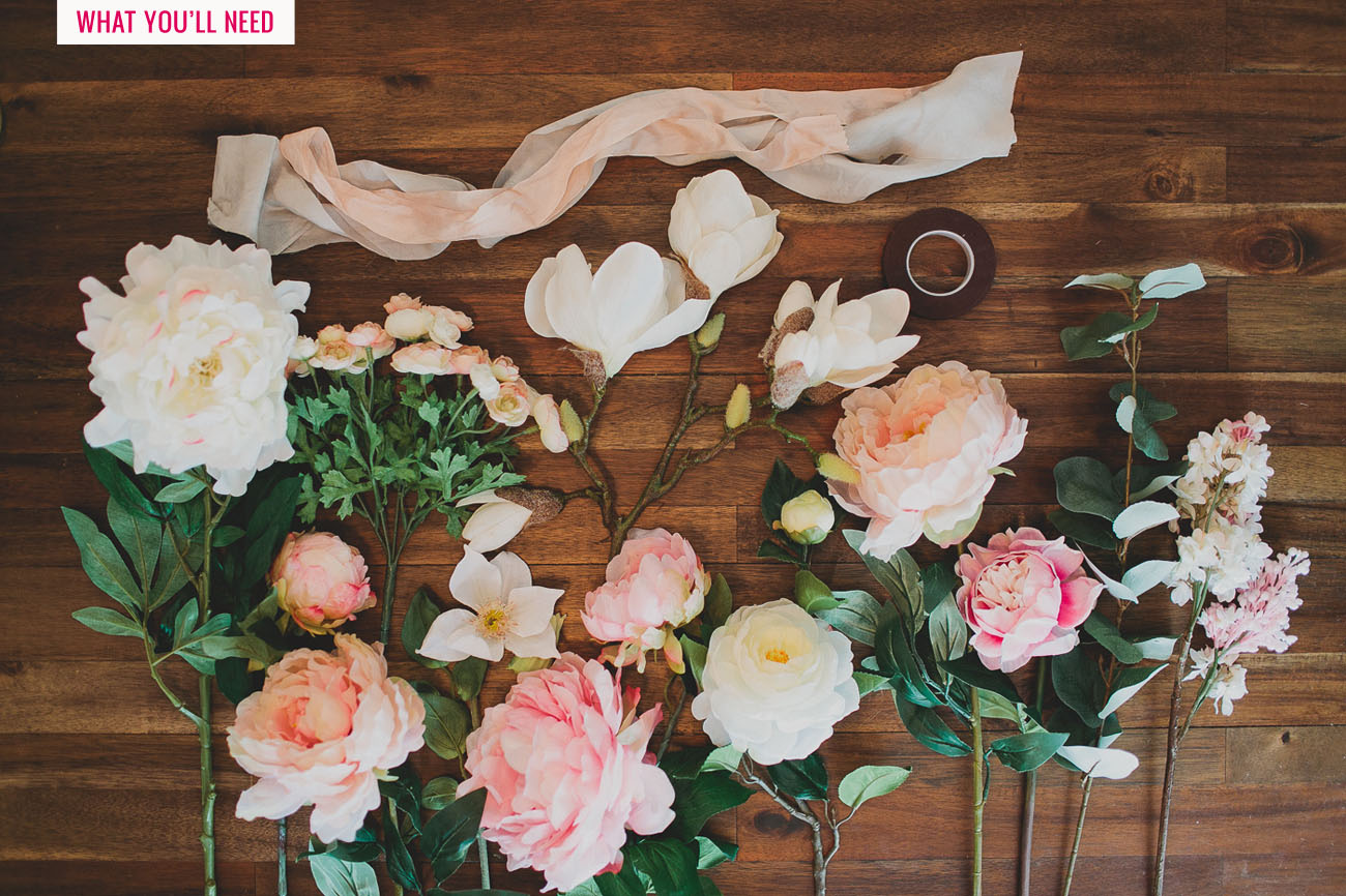 Diy Silk Fl Bouquet