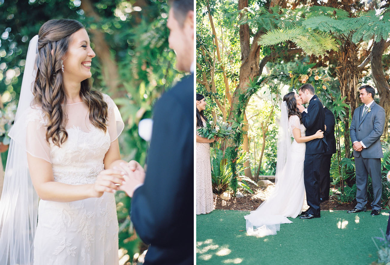 San Diego Botanical Wedding