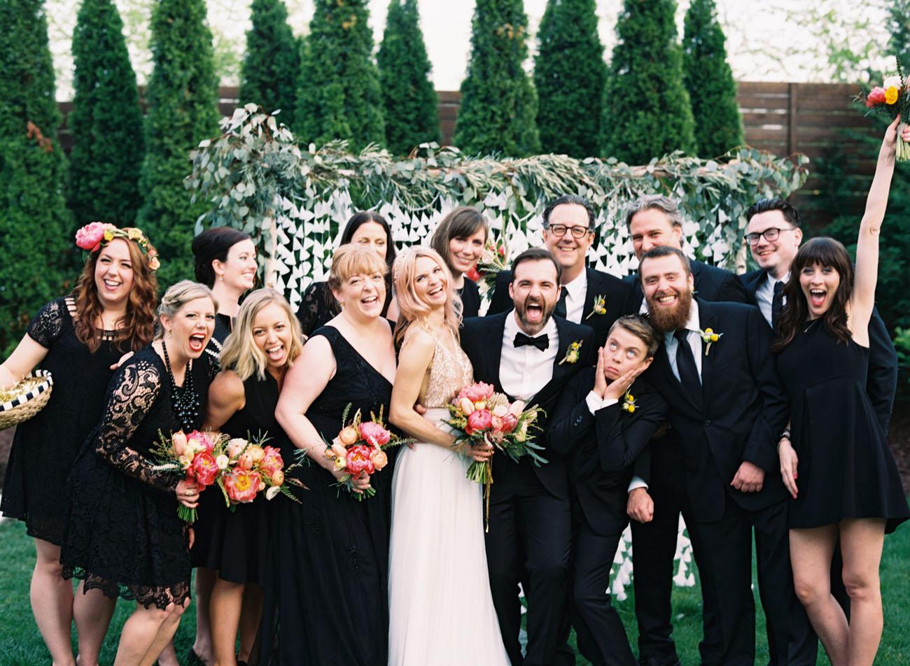 Quirky Nashville Wedding