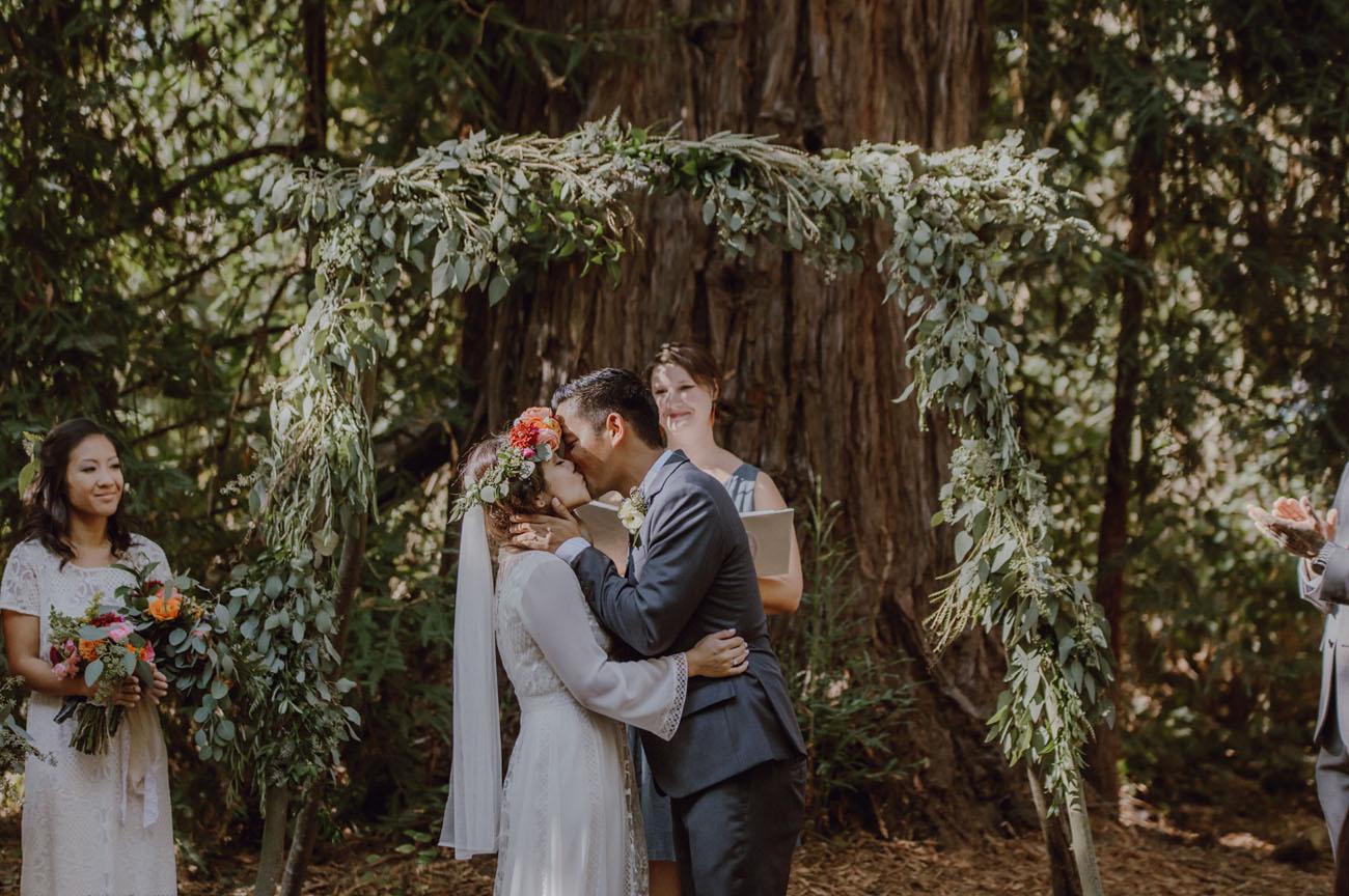 Free Spirited Bohemian Wedding