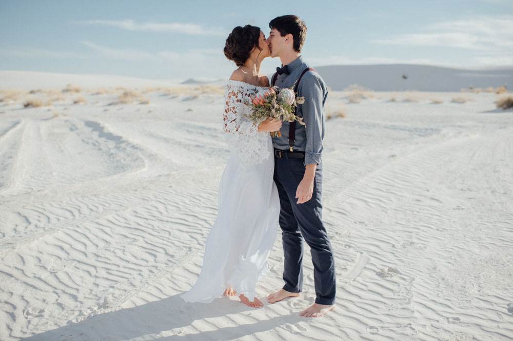 White Sands Elopement
