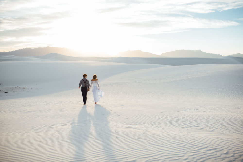 White Sands Elopement