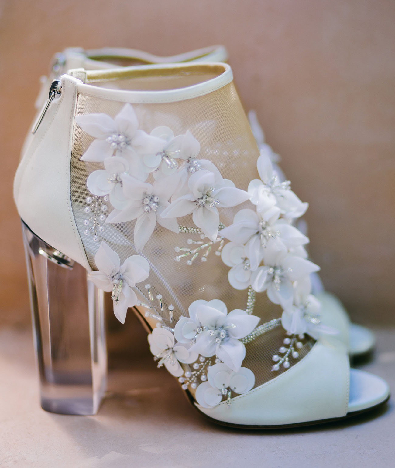 Wedding Bridal Heels: Whitney Port + Tim Rosenman's Wedding