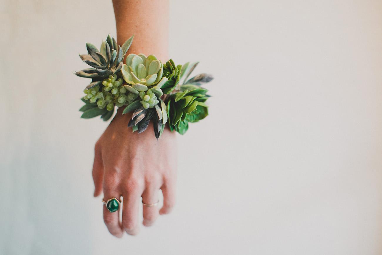 Diy Wedding Flowers Succulents : Diy succulent wrist cuff green wedding shoes weddings