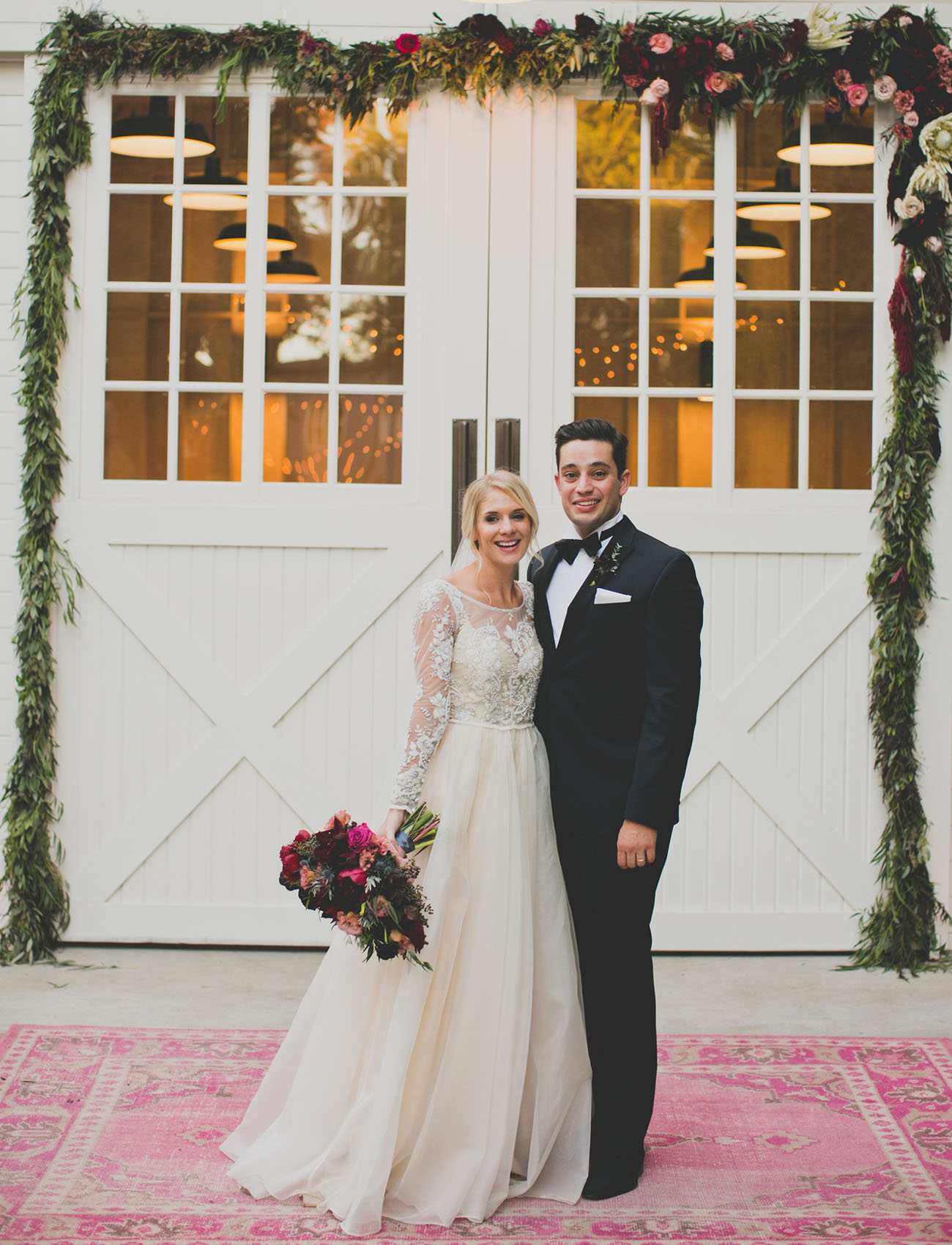Boho Black Tie Wedding